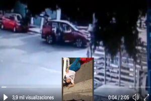 VIDEO: Captan nuevo ataque de sicarios del CJNG contra mando policiaco