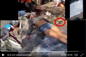 VIDEO: Persecución de narcos en territorio del Mencho deja una mujer y un hombre muertos