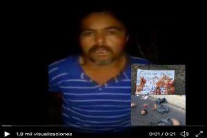 VIDEO: Sicarios del CJNG interrogan y luego cortan en pedazos a 2 sujetos