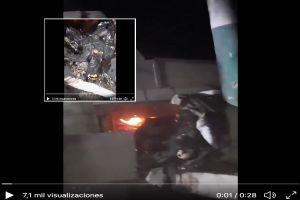 VIDEO: Sicarios del Cártel del Golfo muestra cómo quedó joven tras quemarlo vivo