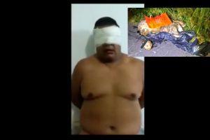 VIDEO: Sicarios desnudan, interrogan y descuartizan a policía, así lo dejaron