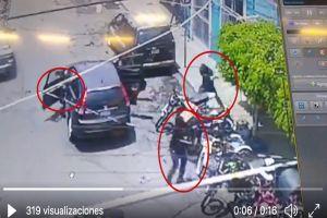 VIDEO: Sicarios disparan en contra de negocio porque no les pagaron derecho de piso
