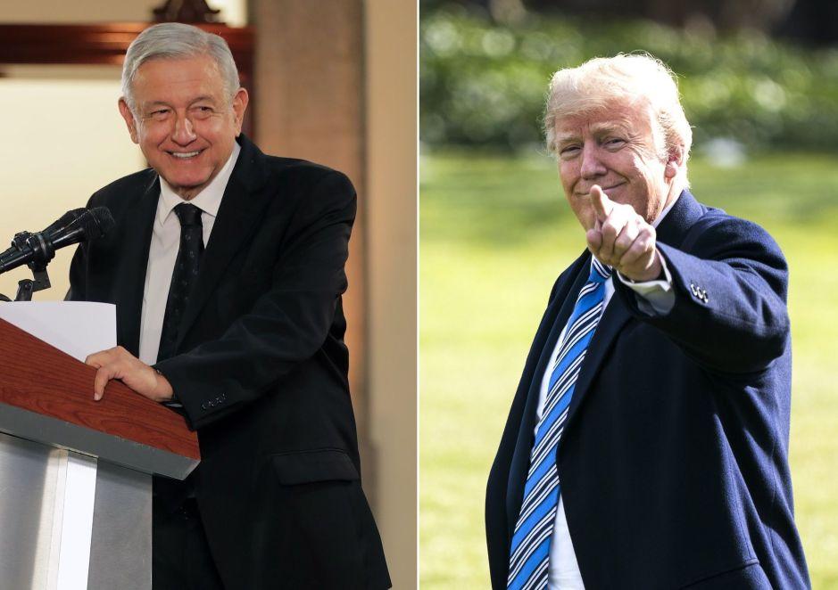 """AMLO y Trump: los """"dos amigos"""" impensables"""