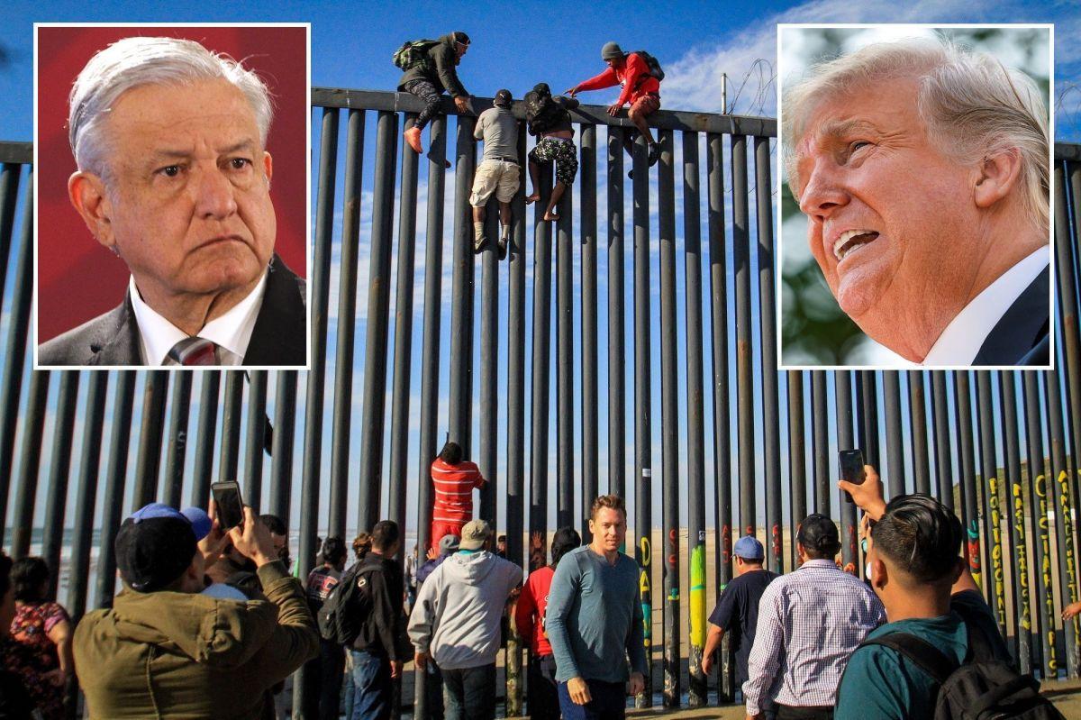 Cómo detener la inmigración de indocumentados es tema clave en reunión de AMLO y Trump