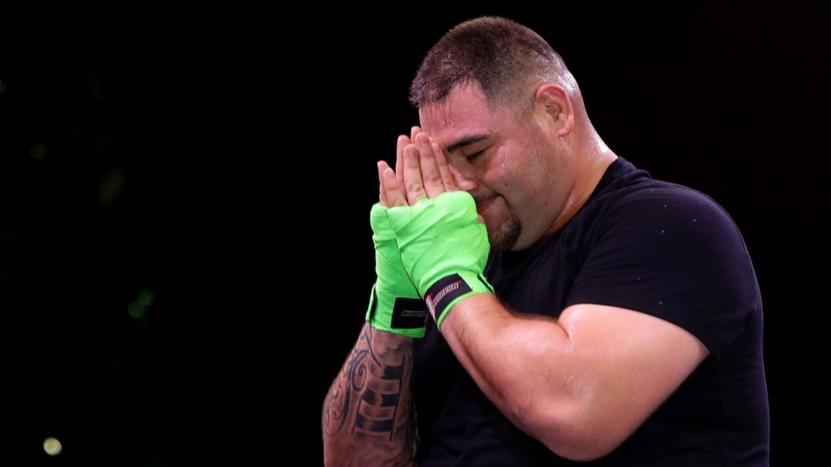 Andy Ruiz se tatuó el antebrazo izquierdo.