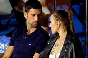 Novak Djokovic y su esposa están libres de coronavirus