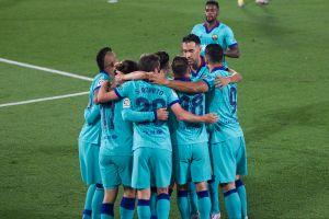 ¿Ya para qué? El Barça se inspiró tarde y derrotó al Villarreal gracias a la conexión Messi-Griezmann