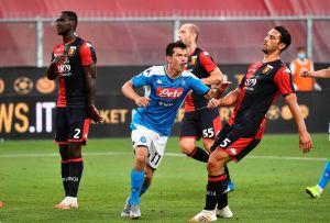 """Responde con gol: """"Chucky"""" Lozano entra de cambio y en sólo dos minutos le da tres puntos al Napoli"""