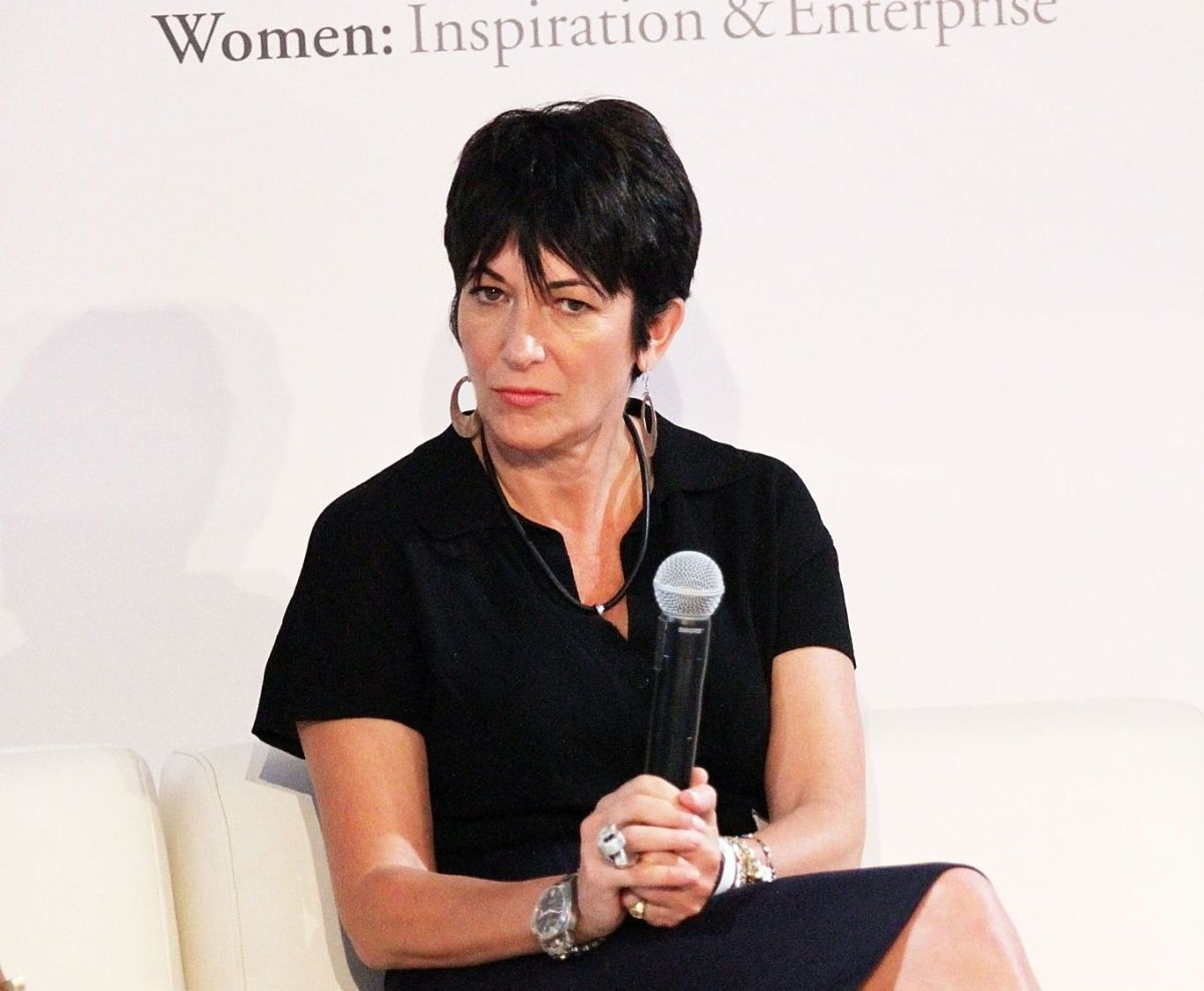 Ghislaine Maxwell en un evento a favor de la mujer en NYC, 2013
