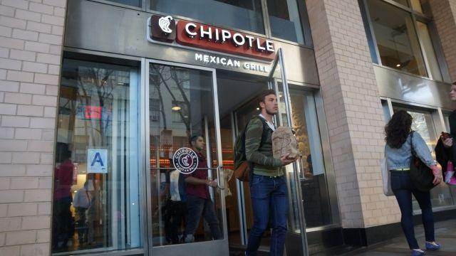 Un restaurante de la cadena Chipotle en Nueva York.