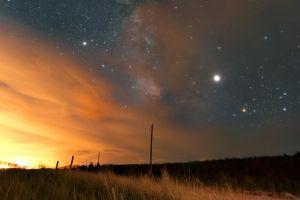 5 planetas estarán alineados en el cielo este fin de semana y podrás observarlos sin telescopio