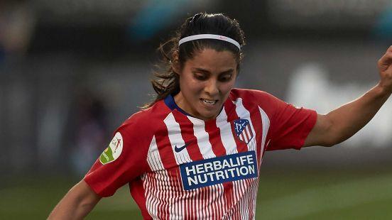 La mexicana Kenti Robles jugó en el Atlético de Madrid.