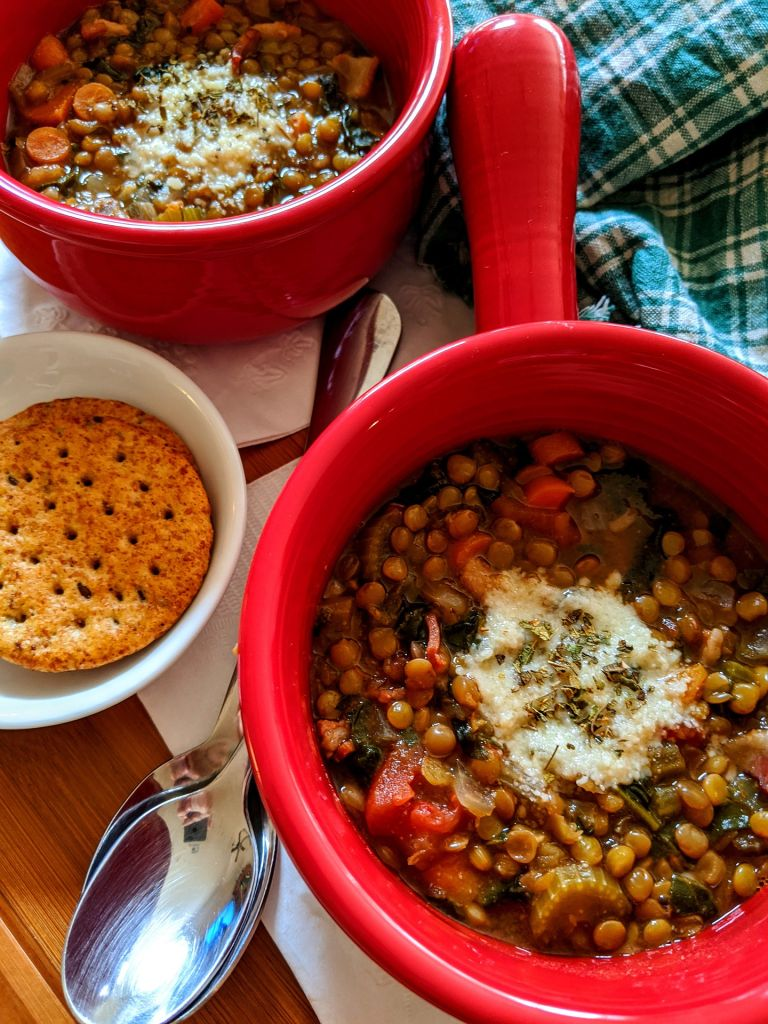 Why is it good to eat lentils in hot weather?
