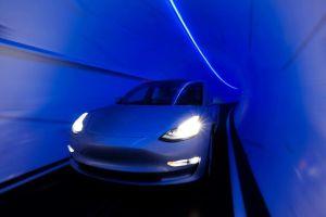 Estos videos demuestran cómo son los túneles de alta velocidad que Elon Musk construye debajo de Las Vegas