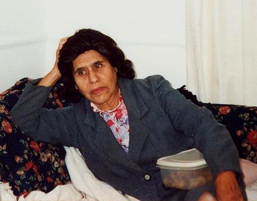 Último adiós a la señora Narváez
