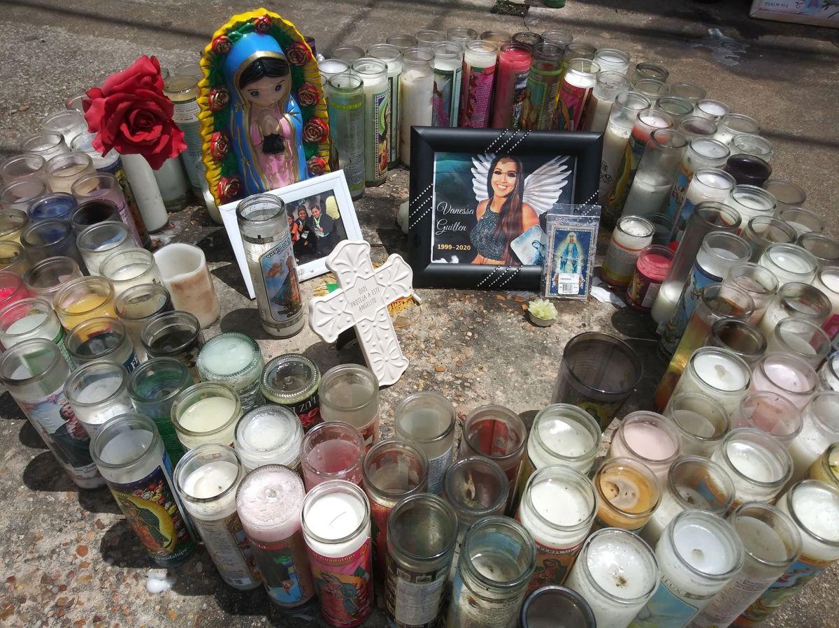 VIDEO: La abuelita de Vanessa Guillén visitó el lugar donde encontraron los restos de su nieta
