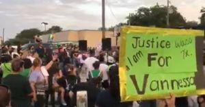Mira el memorial que le hicieron a Vanessa Guillén cerca del lugar donde encontraron los restos; hubo protesta en Fort Hood