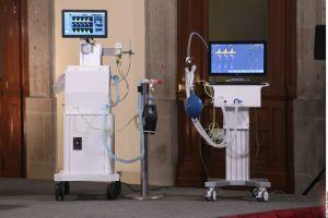 AMLO presenta ventiladores para pacientes con COVID-19 creados en México