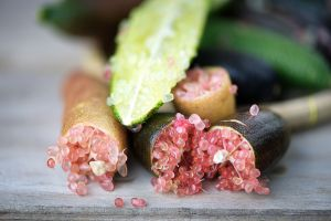 ¿Cuáles son los usos para la salud del caviar cítrico llamado finger lime?
