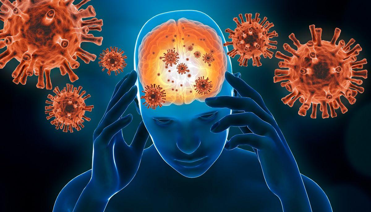 El coronavirus puede causar secuelas cerebrales.