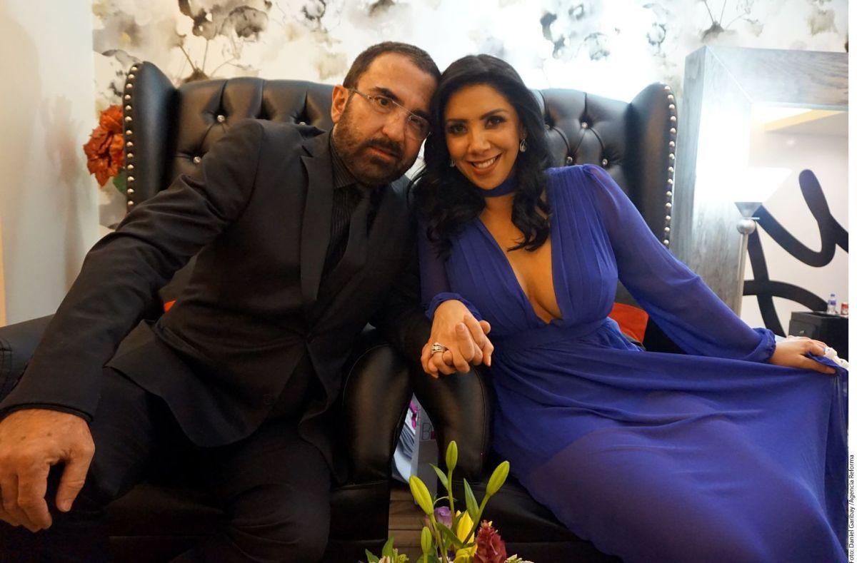 Vicente Jr. y Kary Ortegón.