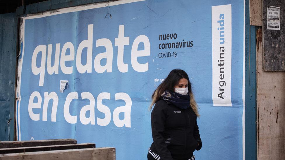 Argentina es uno de los países con mayor cantidad de casos cada 24 horas.