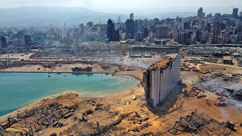 La caótica cadena de acontecimientos desató la explosión de Beirut