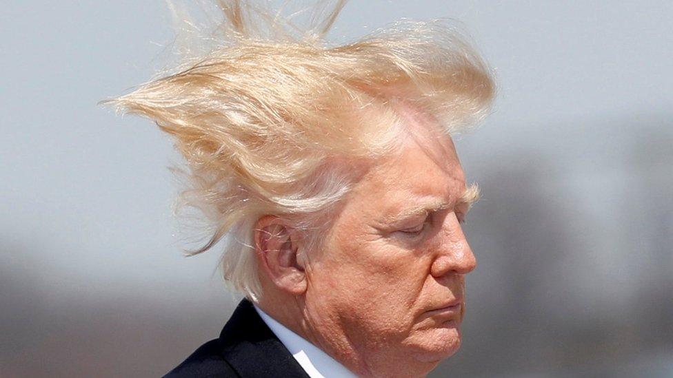"""""""Mi cabello tiene que estar perfecto"""": Las razones de Trump para cambiar las normas que limitan el agua que sale por las duchas"""