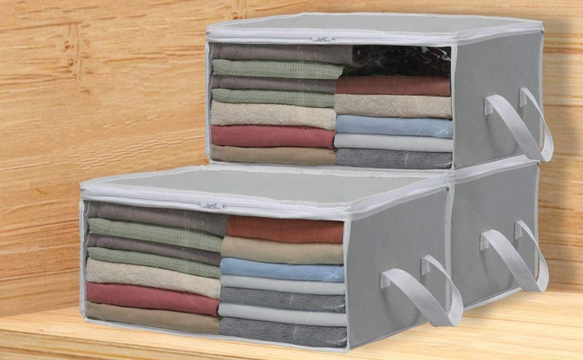 5 sets de organizadores que te ayudan a aprovechar el espacio de tu closet