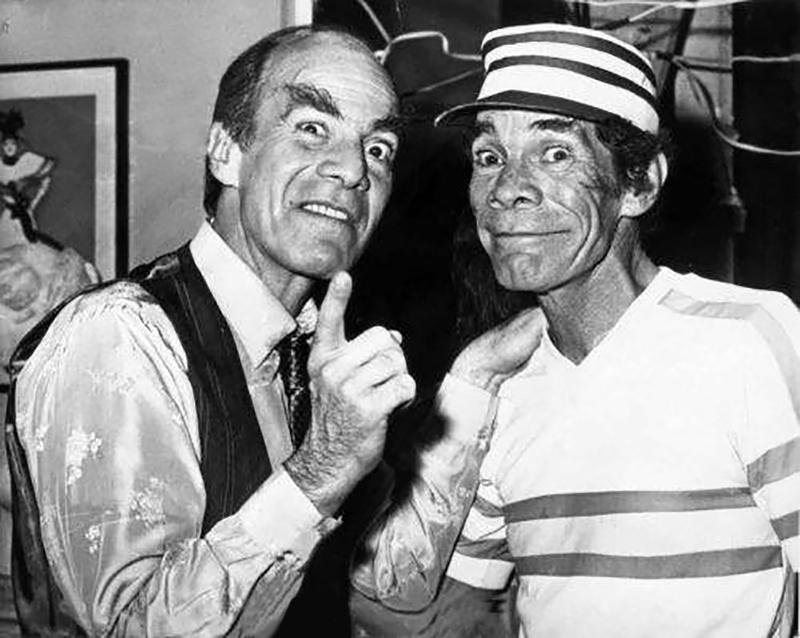 """Manuel """"El Loco"""" Valdés, junto a su hermano Ramón, también conocido como """"Don Ramón""""."""