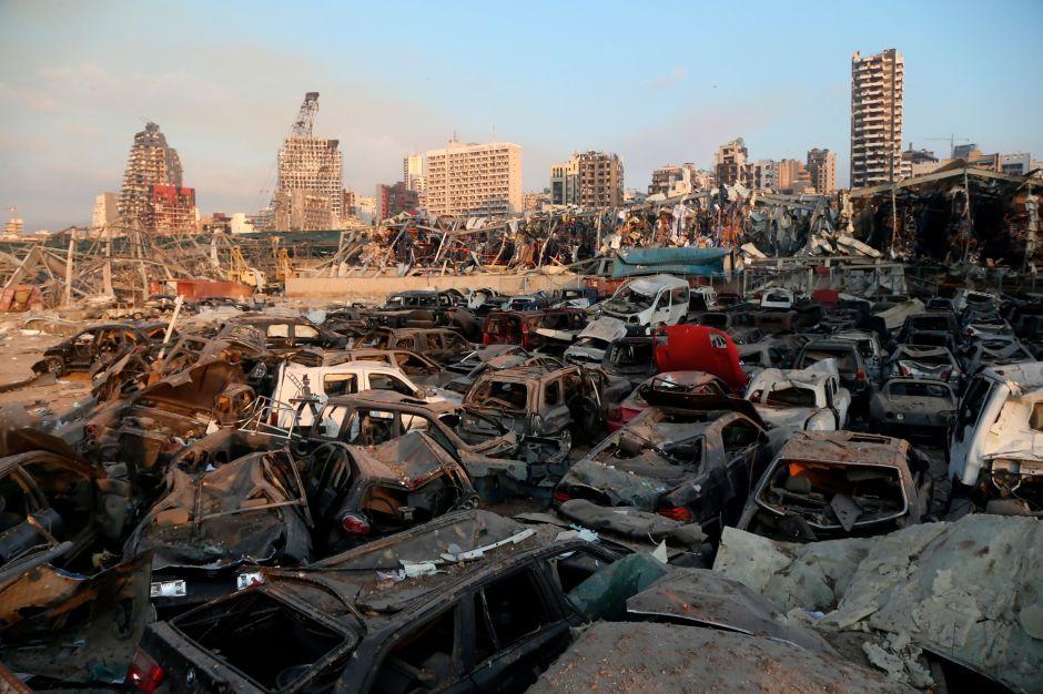 """Trump dice que explosión en Beirut fue un ataque tipo """"bomba"""""""