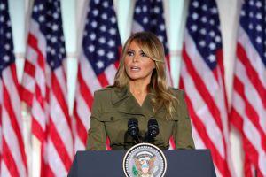 Melania Trump reconoce la gravedad de la pandemia de coronavirus en la Convención Republicana