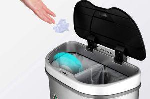 5 opciones de botes de basura para tener en tu cocina y dividirla como es debido