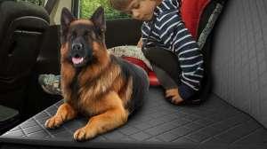 Las mejores fundas protectoras para que tu mascota pueda viajar en el asiento trasero de tu auto
