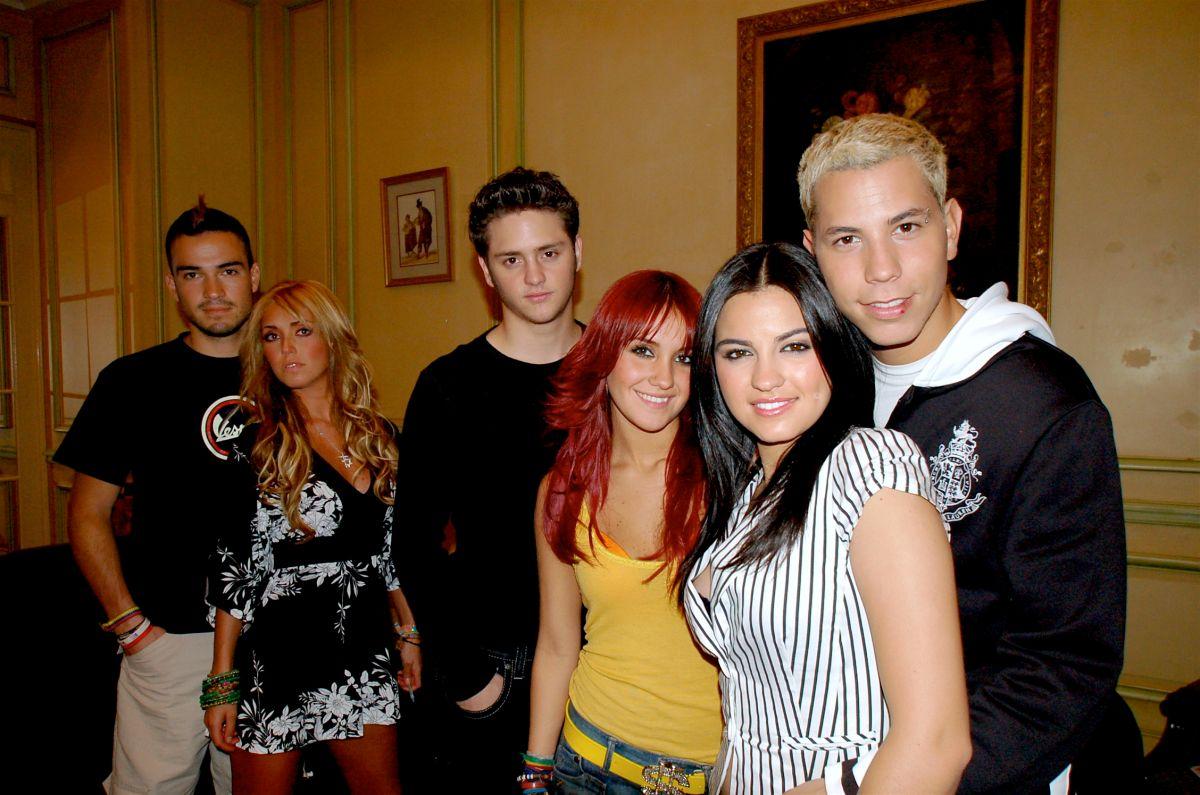 Los integrantes de RBD.