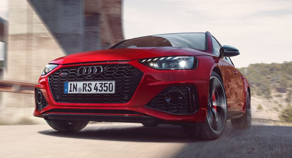 Audi RS 4. / Foto: Cortesía Audi.