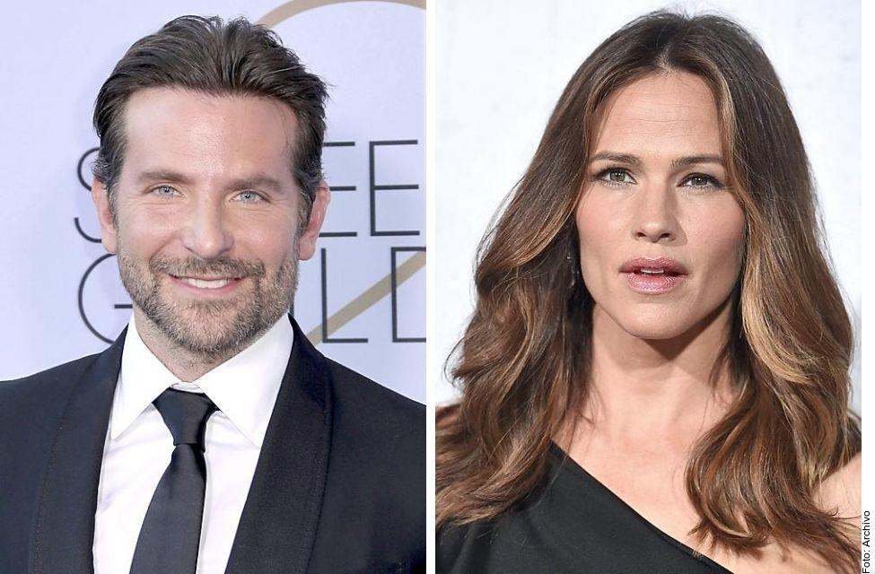 Bradley Cooper y Jennifer Garner.