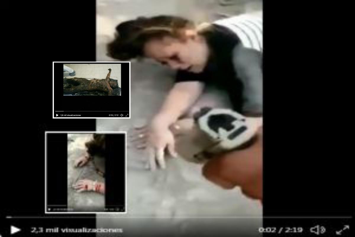 VIDEO: Hallan cuerpos calcinados, indagan si son de embarazada o de mujer baleada en manos
