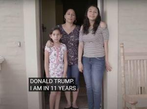 Hija de militar hispano que votó por Trump y cuya madre fue deportada lidera voz de inmigrantes con Biden