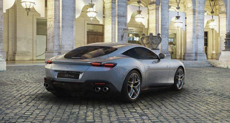 Ferrari Roma 2020. / Foto: Cortesía Ferrari.
