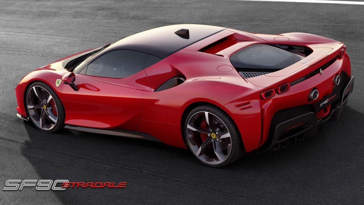 Ferrari SF90 Stradale. / Foto: Cortesía Ferrari.