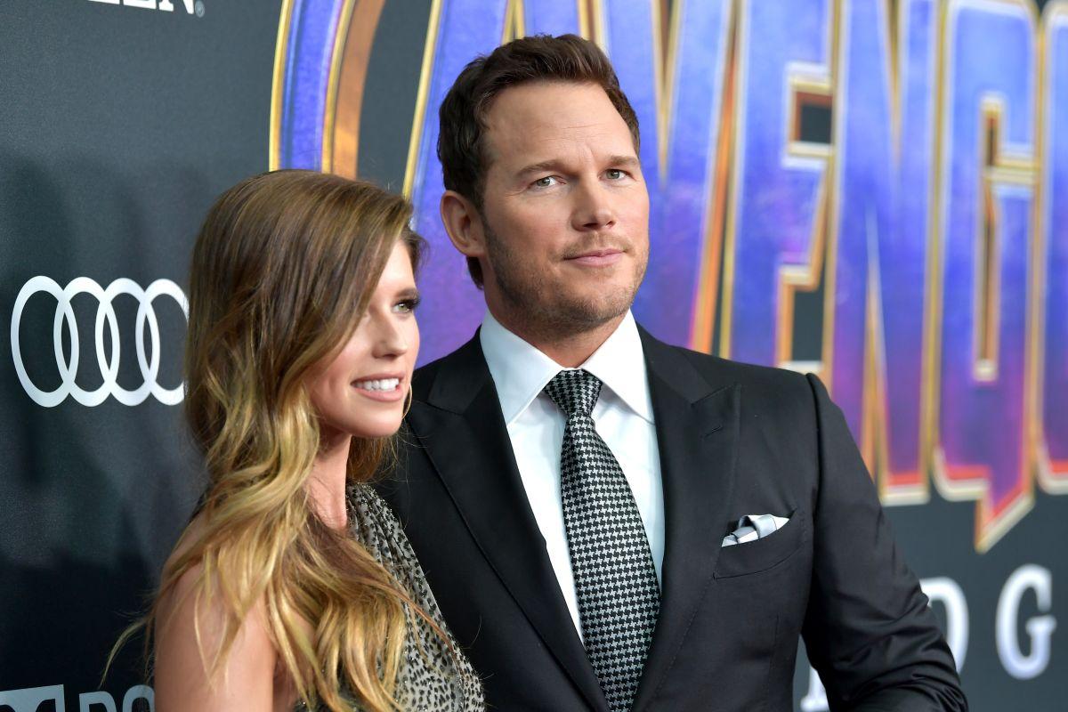 Katherine Schwarzenegger y Chris Pratt.