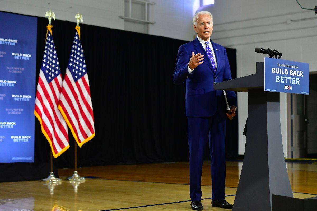 El exvicepresidente Biden delinea su plan para la comunidad hispana.