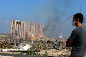 Van más de 100 muertos y 4,000 heridos por explosiones en Beirut
