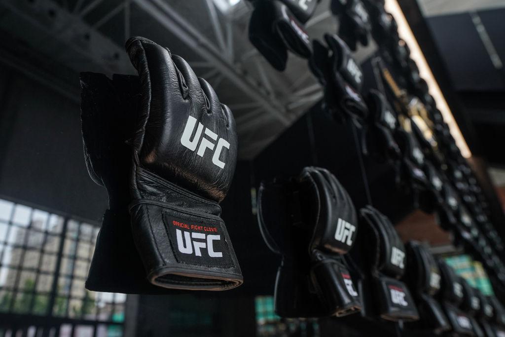 Parte del equipamiento que usan los peleadores de la UFC