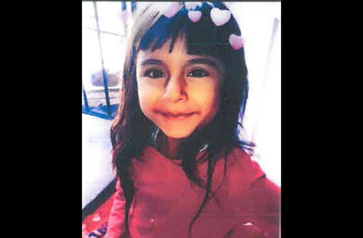 La menor fue vista por última vez el sábado 8 de agosto a las 9 am.