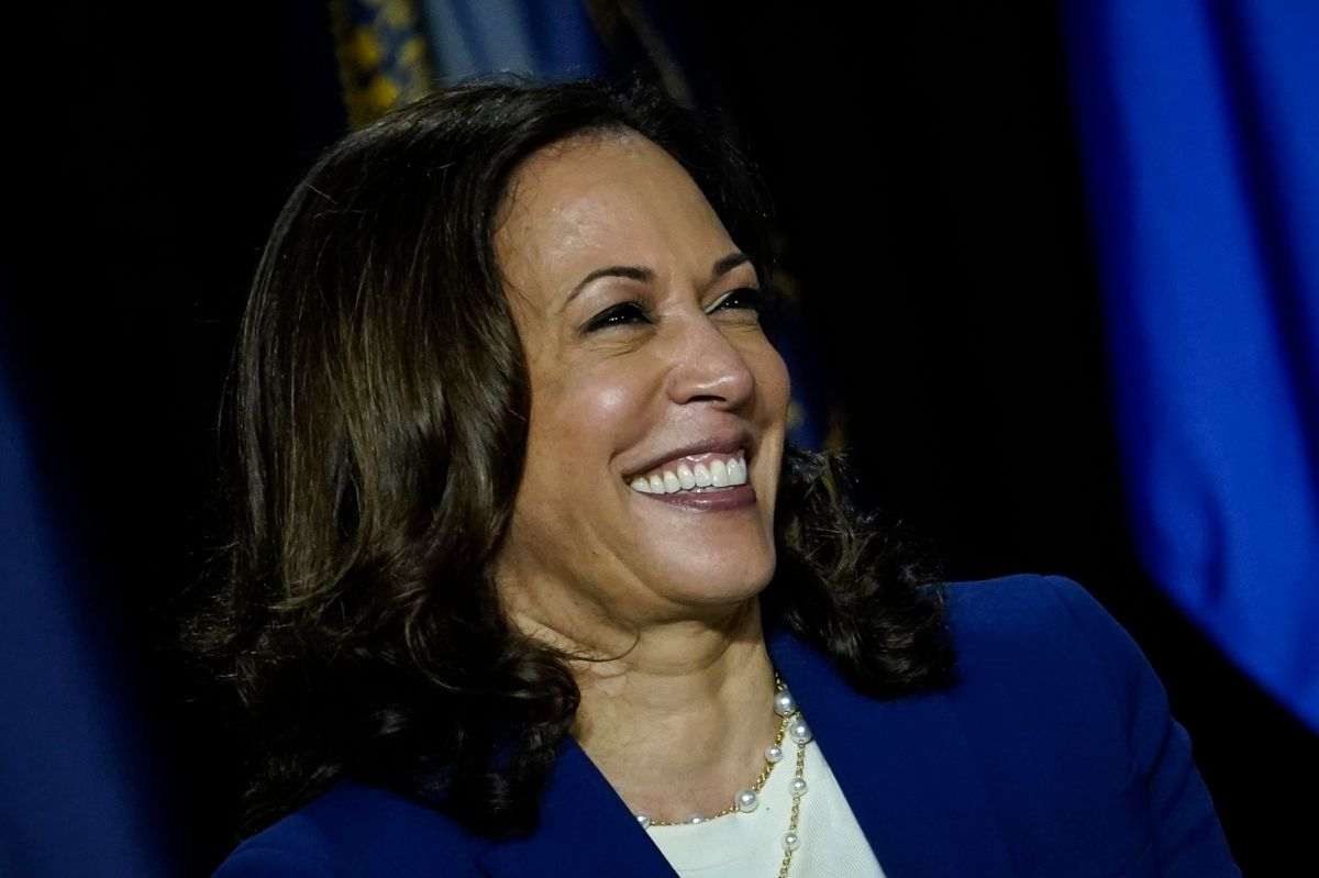 Kamala Harris se mostró convencida de poder desafiar al republicano.