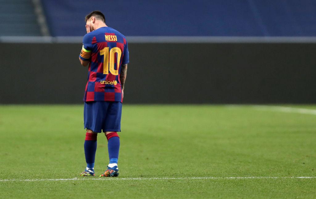 El futuro de Lionel Messi en el Barcelona es incierto.