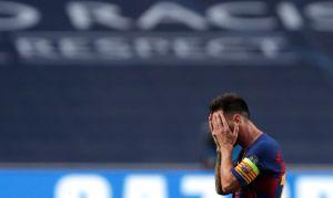 """""""No te vayas, chavo"""": El montaje de Messi como el Chavo del 8 que está volviendo loco a internet"""