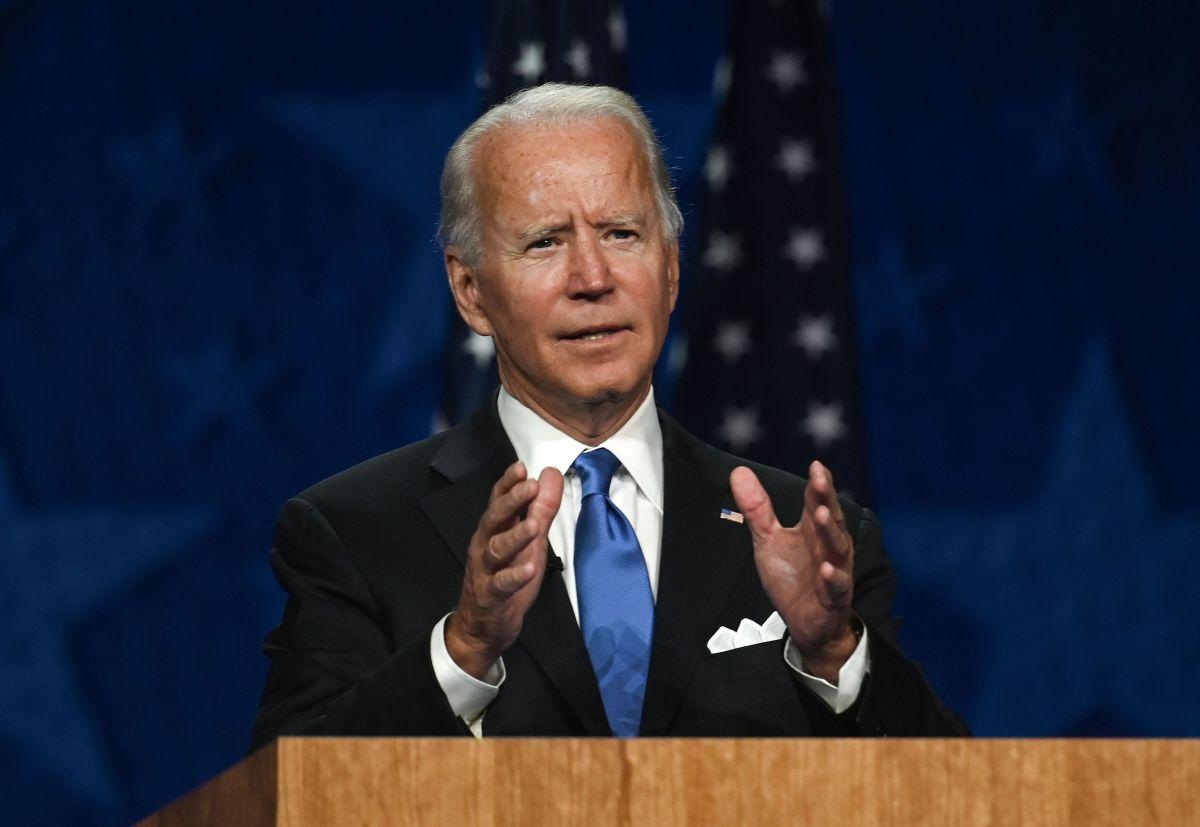 """Biden agradeció a Barack Obamo por ser """"un gran presidente""""."""